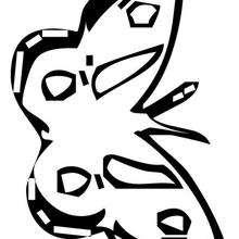 Mariposa para pintar y dibujar - Dibujos para Colorear y Pintar - Dibujos para colorear ANIMALES - Dibujos INSECTOS para colorear - Dibujos para colorear MARIPOSAS - Pintar MARIPOSAS
