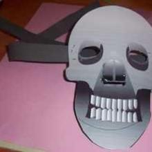 Manualidad infantil : Máscara de Halloween