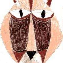 Ilustración : Máscara africana