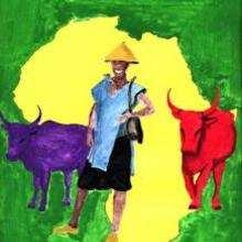 Ilustración : Continente africano
