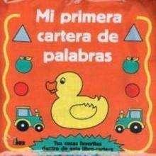 Mi primera cartera de palabras - Lecturas Infantiles - Libros INFANTILES Y JUVENILES - Libros INFANTILES - de 0 a 5 años