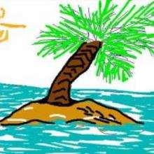 Mi isla - Dibujar Dibujos - Dibujos para COPIAR - Otros