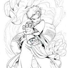 Naruto - Shukaku - Dibujos para Colorear y Pintar - Dibujos para colorear MANGA - Dibujos para colorear NARUTO - Dibujos para colorear e imprimir NARUTO