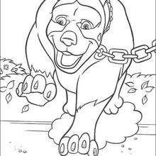 el perro - Dibujos para Colorear y Pintar - Dibujos de PELICULAS colorear - Dibujos para colorear VECINOS INVASORES