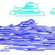 Ilustración : El océano