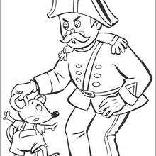 Dibujo para colorear : Sr. Pull y Ratón
