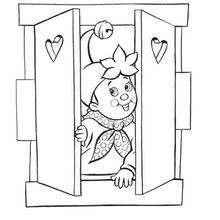 Noddy se va a la cama - Dibujos para Colorear y Pintar - Dibujos para colorear PERSONAJES - PERSONAJES ANIME para colorear - Noddy para pintar