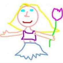 Julia - Dibujar Dibujos - Dibujos de NIÑOS - Dibujo de los niños POR LA PAZ
