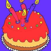 Cocinar con niños : Pastel de cumpleaños