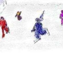 Pista para patinar - Dibujar Dibujos - Dibujos para COPIAR - Otros