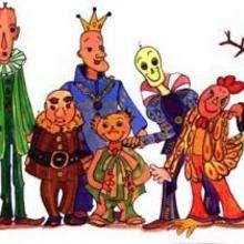 Ilustración : Personajes fantásticos