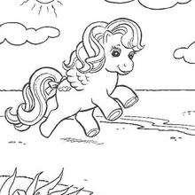 Dibujo de CHERRYLEE para colorear - Dibujos para Colorear y Pintar - Dibujos para colorear PERSONAJES - PERSONAJES ANIME para colorear - Mi pequeño Pony para colorear