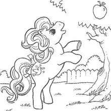 Dibujo de APPLE JACK para colorear - Dibujos para Colorear y Pintar - Dibujos para colorear PERSONAJES - PERSONAJES ANIME para colorear - Mi pequeño Pony para colorear