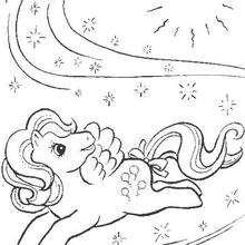Dibujo de PINKIE PIE gratis para imprimir - Dibujos para Colorear y Pintar - Dibujos para colorear PERSONAJES - PERSONAJES ANIME para colorear - Mi pequeño Pony para colorear