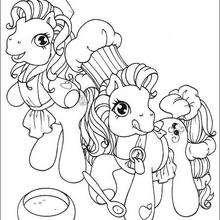 Dibujo de PINKIE PIE para colorear - Dibujos para Colorear y Pintar - Dibujos para colorear PERSONAJES - PERSONAJES ANIME para colorear - Mi pequeño Pony para colorear