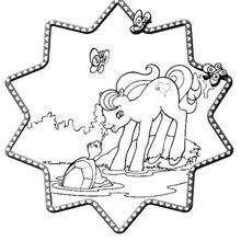 Dibujo PRINCESA CADANCE para imprimir y pintar - Dibujos para Colorear y Pintar - Dibujos para colorear PERSONAJES - PERSONAJES ANIME para colorear - Mi pequeño Pony para colorear