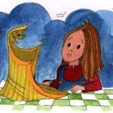 Chiquita - Dibujar Dibujos - IMAGENES infantiles - Imagenes infantiles para ver e imprimir - Los niños