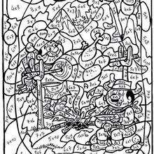 Dibujos Para Colorear Por Número Eshellokidscom