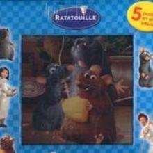 Ratatouille : mi primer libro-puzzle