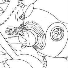 El Gran Soldador - Dibujos para Colorear y Pintar - Dibujos de PELICULAS colorear - Dibujos para colorear ROBOTS PELICULA - Dibujos para pintar ROBOTS PELICULA
