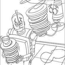 Herb Hojalata el robot - Dibujos para Colorear y Pintar - Dibujos de PELICULAS colorear - Dibujos para colorear ROBOTS PELICULA - Dibujos para pintar ROBOTS PELICULA