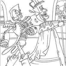 Los robots Manivela y Rodney - Dibujos para Colorear y Pintar - Dibujos de PELICULAS colorear - Dibujos para colorear ROBOTS PELICULA - Dibujos para pintar ROBOTS PELICULA