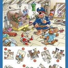 Juegos De Rompecabezas Para Imprimir 2 Juegos Infantiles De