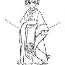 Sakura descontenta - Dibujos para Colorear y Pintar - Dibujos para colorear MANGA - Dibujos para colorear SAKURA CAZADORA DE CARTAS - Dibujos para colorear gratis SAKURA CAZADORA DE CARTAS