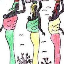 Ilustración : Mujeres de Senegal