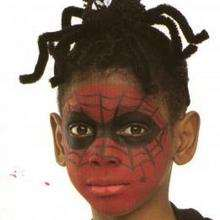 Spiderman - Manualidades para niños - MAQUILLAJE para niños - Maquillaje SUPERHEROE