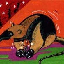 Oso hormiguero - Dibujar Dibujos - Imagenes para niños - Imagenes ANIMALES