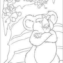 Nigel y los monos - Dibujos para Colorear y Pintar - Dibujos de PELICULAS colorear - Dibujos para colorear SALVAJE PELICULA - Dibujos para colorear e imprimir SALVAJE