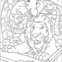 Todos en el camión - Dibujos para Colorear y Pintar - Dibujos de PELICULAS colorear - Dibujos para colorear SALVAJE PELICULA - Dibujos para colorear e imprimir SALVAJE