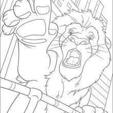 Samson desesperado - Dibujos para Colorear y Pintar - Dibujos de PELICULAS colorear - Dibujos para colorear SALVAJE PELICULA - Dibujos para colorear e imprimir SALVAJE