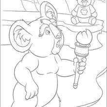 Nigel doble - Dibujos para Colorear y Pintar - Dibujos de PELICULAS colorear - Dibujos para colorear SALVAJE PELICULA - Dibujos para pintar SALVAJE