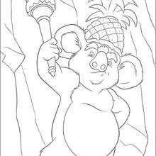 Dibujo para colorear : Nigel la koala