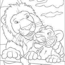 Dibujo para colorear : Samson y Ryan