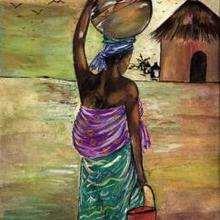 Ilustración : Mujer de Camerún
