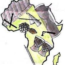 Instrumentos de África - Dibujar Dibujos - Imagenes para niños - Imagenes del MUNDO - En África