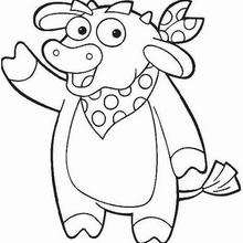 Dibujo para colorear : Totor el toro