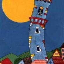 Torre - Dibujar Dibujos - Imagenes para niños - Imagenes PAISAJE