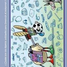 Juego creativo BURRO - Juegos divertidos - Juegos para IMPRIMIR - Juegos de OBSERVACION - Juegos CREATIVOS para imprimir