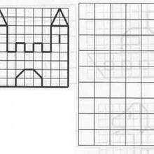 Juego de geometria CASTILLO - Juegos divertidos - Juegos para IMPRIMIR - Juegos de OBSERVACION - Juegos de GEOMETRIA