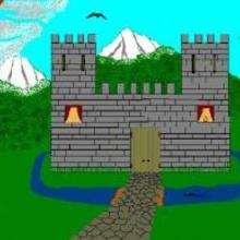 Un castillo - Dibujar Dibujos - Dibujos de NIÑOS - Dibujo de la HISTORIA