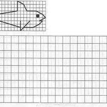 Juego de geometria PEZ - Juegos divertidos - Juegos para IMPRIMIR - Juegos de OBSERVACION - Juegos de GEOMETRIA