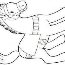 Dibujo de PONI - Dibujos para Colorear y Pintar - Dibujos para colorear ANIMALES - Colorear CABALLOS - Dibujos de PONIS para colorear - PONIS para colorear e imprimir