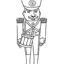 Un soldado - Dibujos para Colorear y Pintar - Dibujos para colorear PERSONAJES - PERSONAJES HISTORICOS para colorear