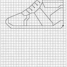 Juego de geometria ZAPATO - Juegos divertidos - Juegos para IMPRIMIR - Juegos de OBSERVACION - Juegos de GEOMETRIA