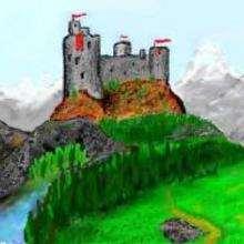 La fortaleza - Dibujar Dibujos - Dibujos de NIÑOS - Dibujo de la HISTORIA