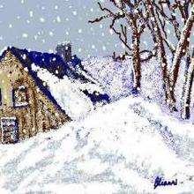 La nieve - Dibujar Dibujos - Dibujos para COPIAR - Otros